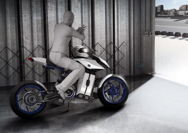 top motorcycle inc bmw motorcycle concept powered by hydrogen fuel cell. Black Bedroom Furniture Sets. Home Design Ideas