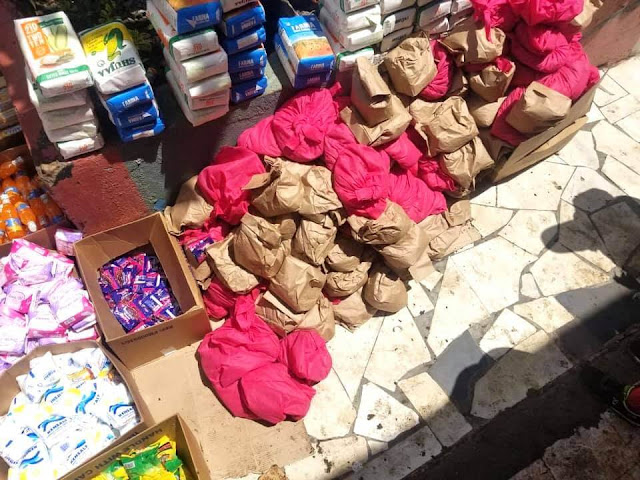 Samples of Foodstuff to be distributed in Nairobi Constituencies.