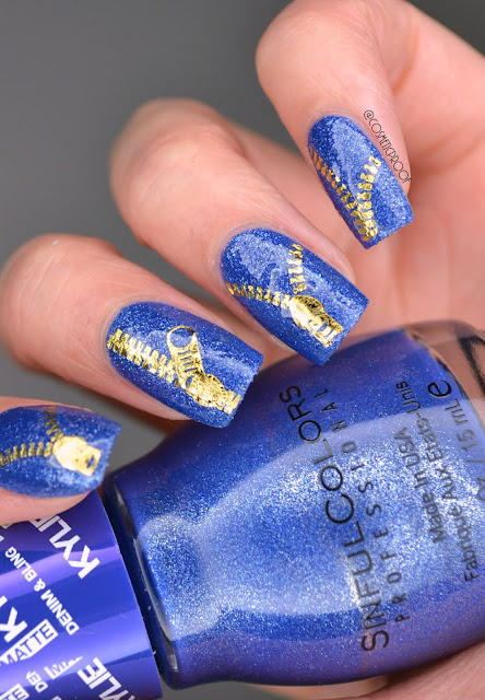 Sinful Colors Kylie Denim and Bling in Kobalt Swatch