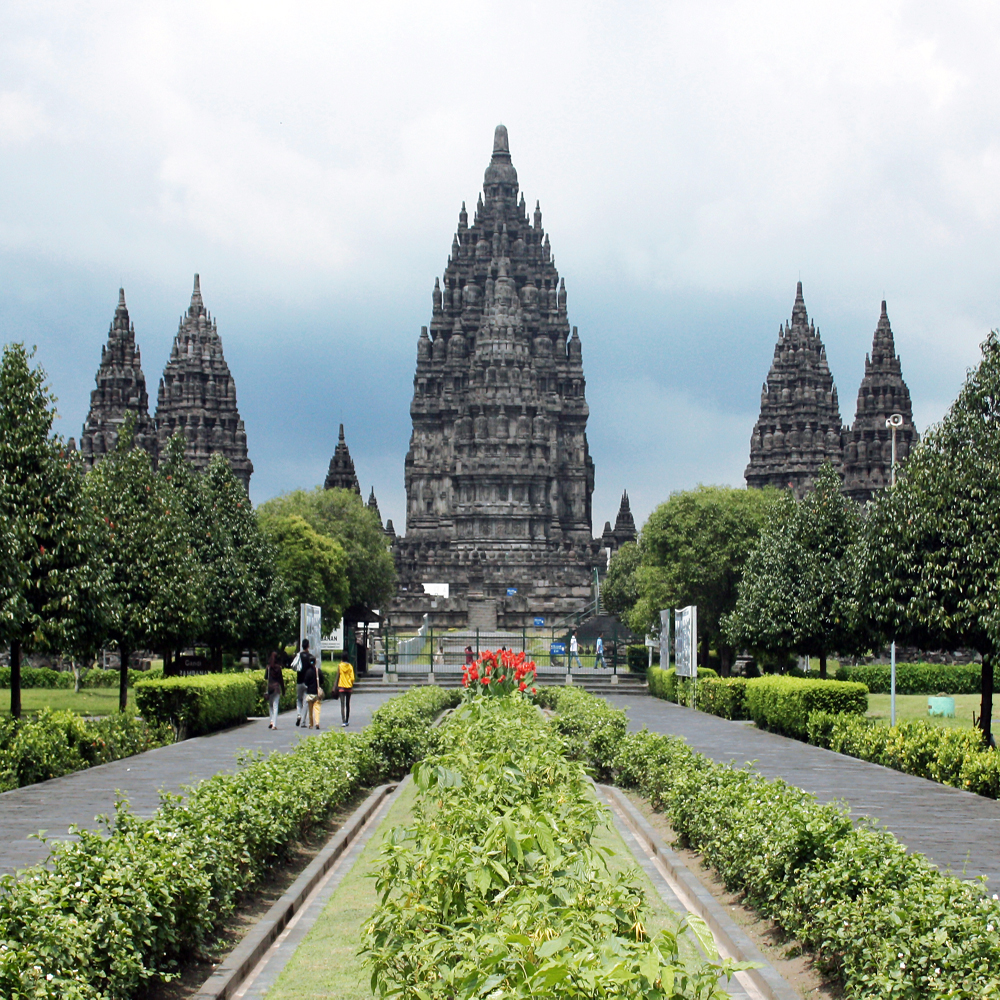 Pramabanan Temple of Central Java Province, Indonesia