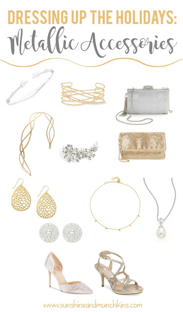 A little bit of sparkle and shine can often be just what I need to complete my outfit, especially during the holidays with all the fun events going on.  Check out these drool-worthy pieces and maybe add a few to your collection!