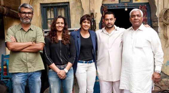 Aamir Khan Danga Dangal Movie Shooting Aamir Khan Gets Muscle