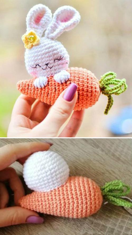 Amigurumi Bunny & Carrot - Free Pattern
