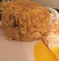 Mofongo and Egg