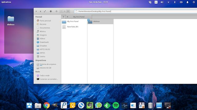 Configuração do elementary OS