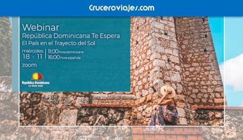 República Dominicana dedica su nuevo webinar a la deslumbrante cultura de un país ''EN EL TRAYECTO DEL SOL''