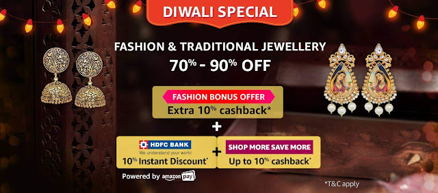 FASHION JEWELLERY 70% to 90% off