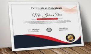 تنزيل شهادة تقدير قابلة لتعديل