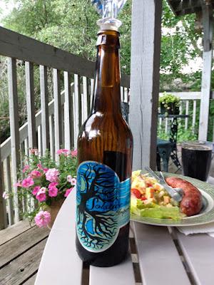 Solstice beer front