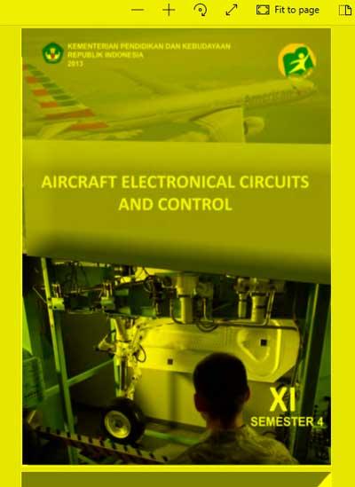 Buku Siswa Aircraft Electronical Circuits and Control SMK Kelas 11 (XI) Semester 4 Kurikulum 13