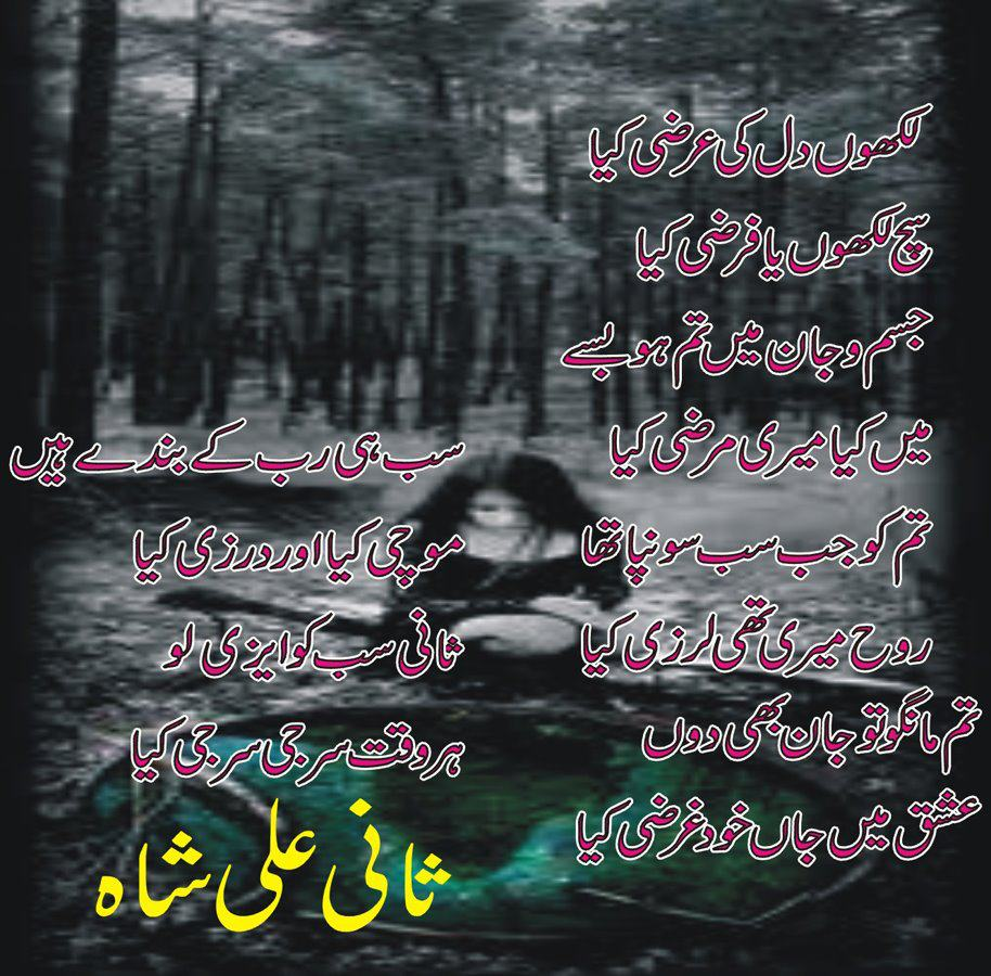 Hurt Poetry In Urdu Hindi And English: Bari Masroof