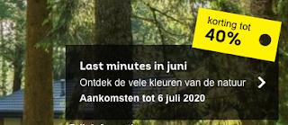 Last minute zomer / voorjaar Juni 40% korting