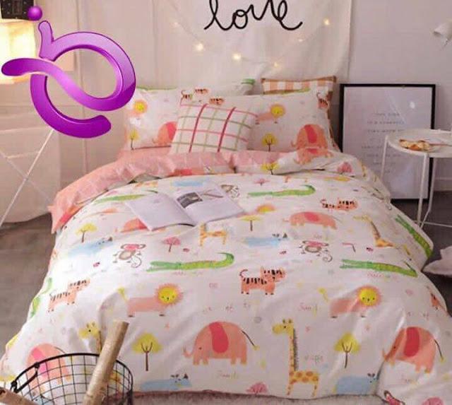 harga sprei dan bed cover murah