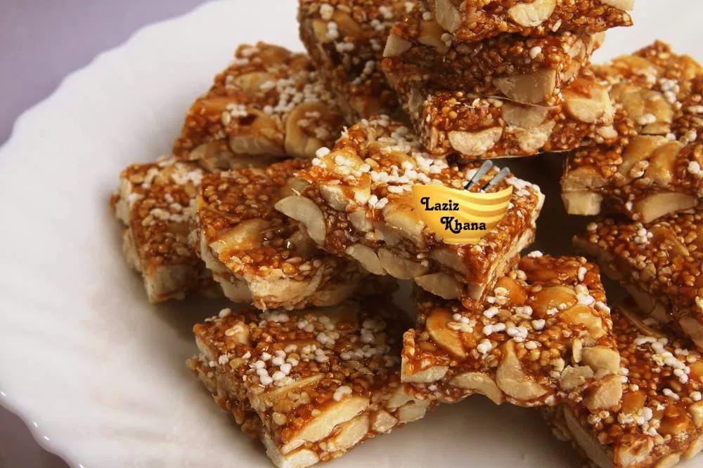 Peanut Barfi Recipe in Hindi