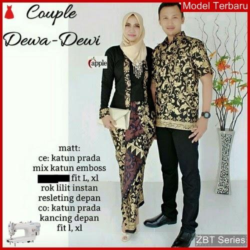 ZBT02309 Kebaya Batik Couple Dewa Dewi Casual BMGShop