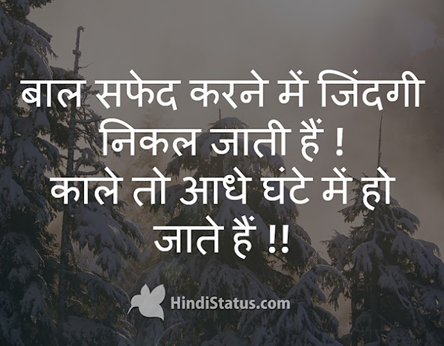White Hair - HindiStatus