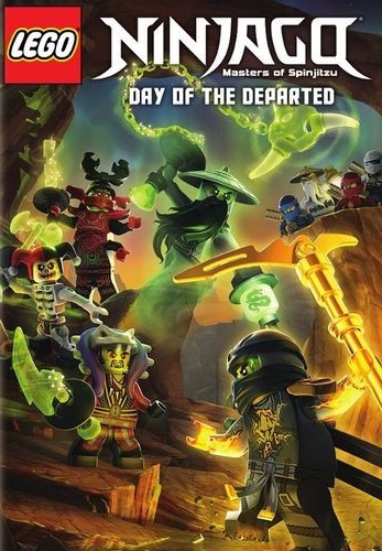 LEGO Ninjago: Day of the Departed [DVD5][Latino]