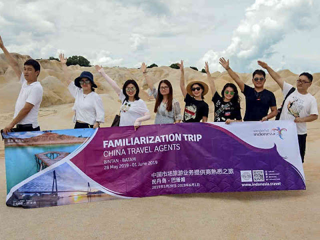 Kemenpar Promosikan Nomadic Tourism di Kepulauan Riau ke Travel Agen China