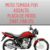Moto é tomada de assalto no município de Poço de José de Moura