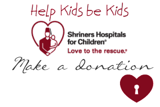 Make a dontation to Shriners Hospitals