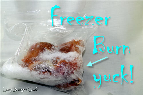 how to prevent freezer burn food