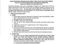Penerimaan Tenaga Bantu Pol PP dan Damkar Pemkab Agam