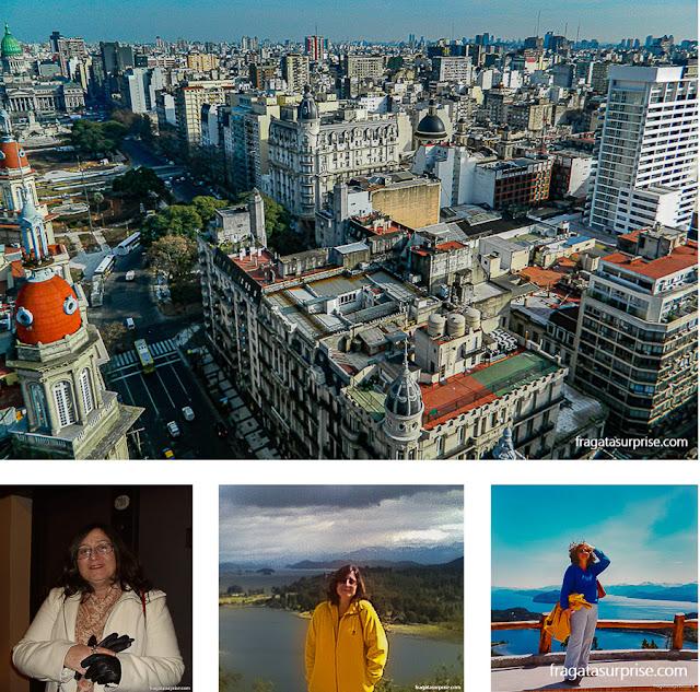 Viajar sozinha para Buenos Aires, Bariloche e Lagos Andinos
