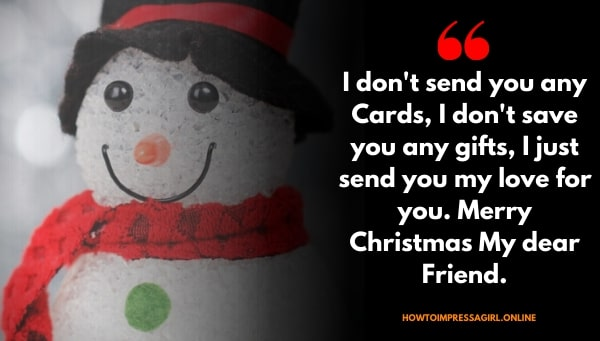 Friends Christmas Wishes