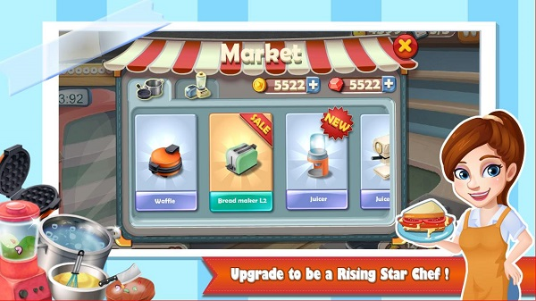 Download Rising Super Chef Cooking Apk Mod Game
