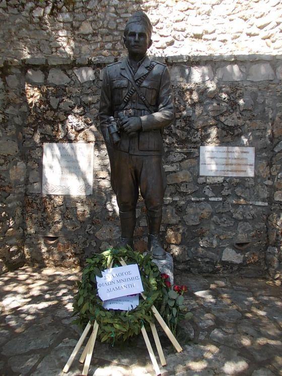 Λιλαία Φωκίδας: Εκδήλωση μνήμης και τιμής στον Καπετάν Διαμαντή (Γιάννη Αλεξάνδρου)