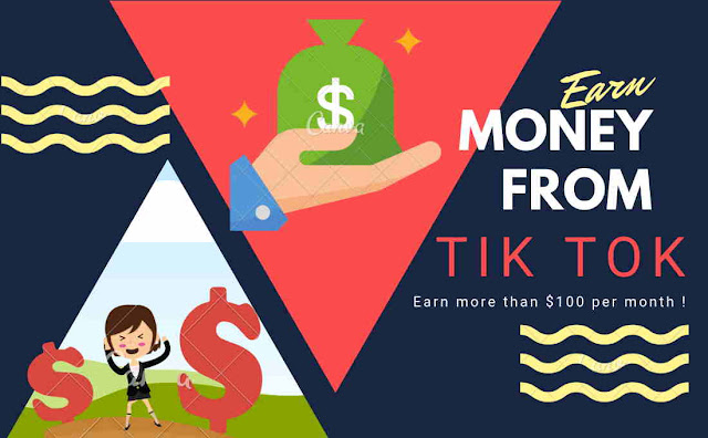 Earn Money From Tik Tok (musical.ly), earn money tik tok, make money from tik tok