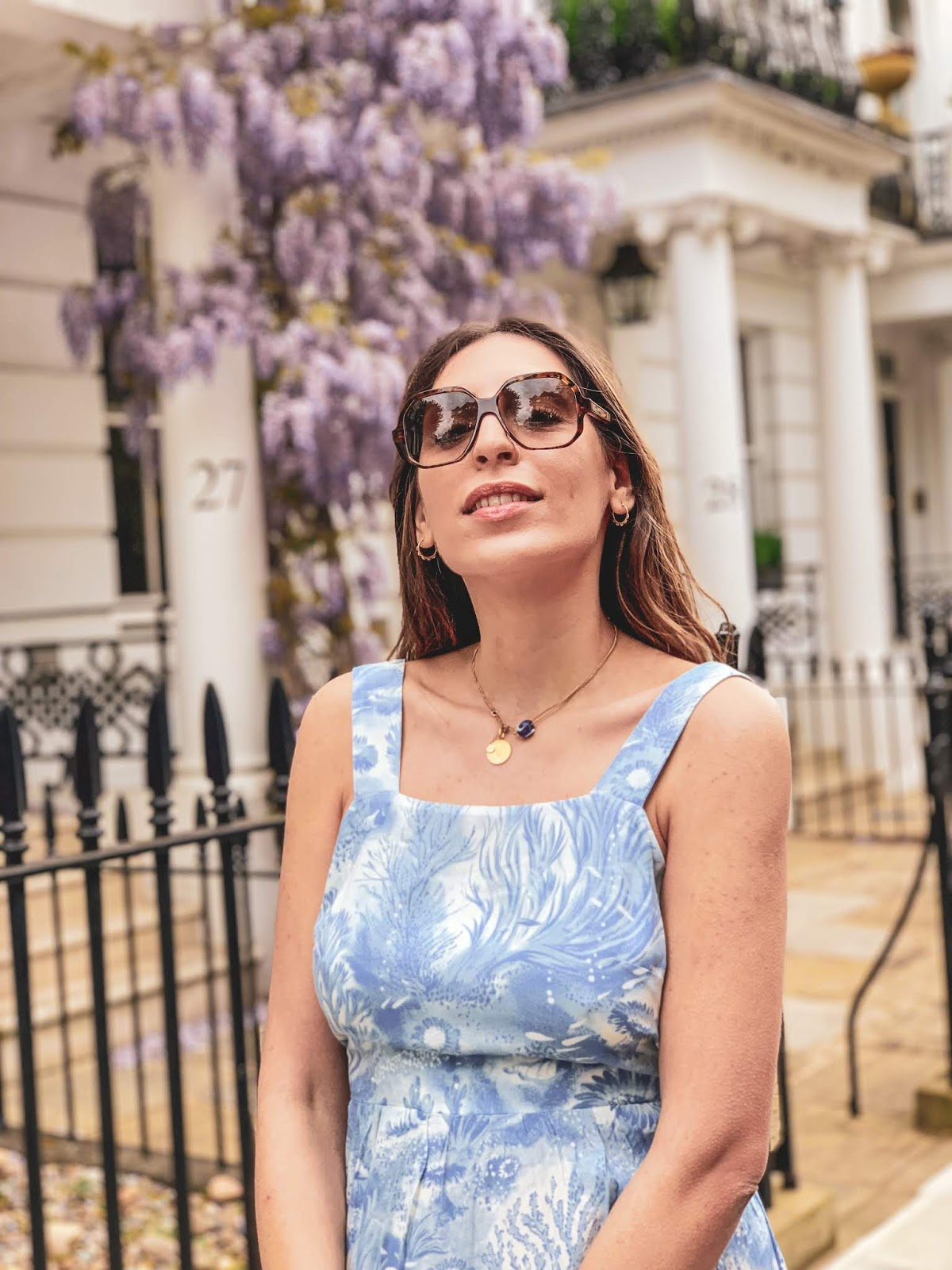 wisteria london blogger
