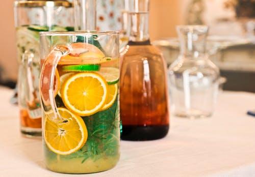 Warm lemon water with Honey
