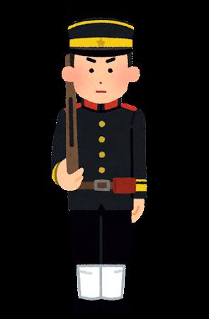屯田兵のイラスト