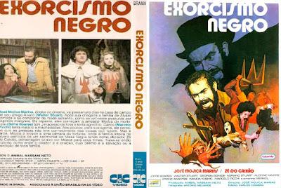 Filme Exorcismo Negro DVD Capa