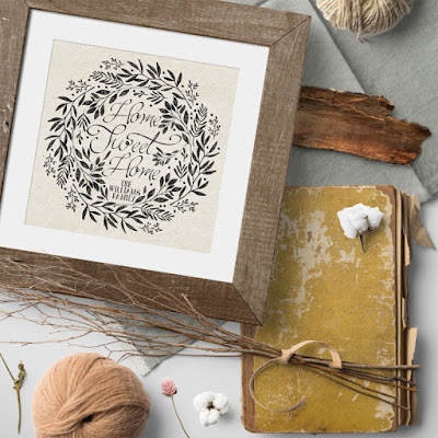 September Autumn Decor Wall Art Print