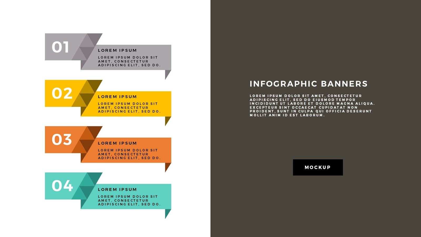 Powerpoint banner template gallery templates example free download infographic geometric banners free powerpoint template free infographic geometric banners powerpoint template slide 5 alramifo gallery toneelgroepblik Image collections