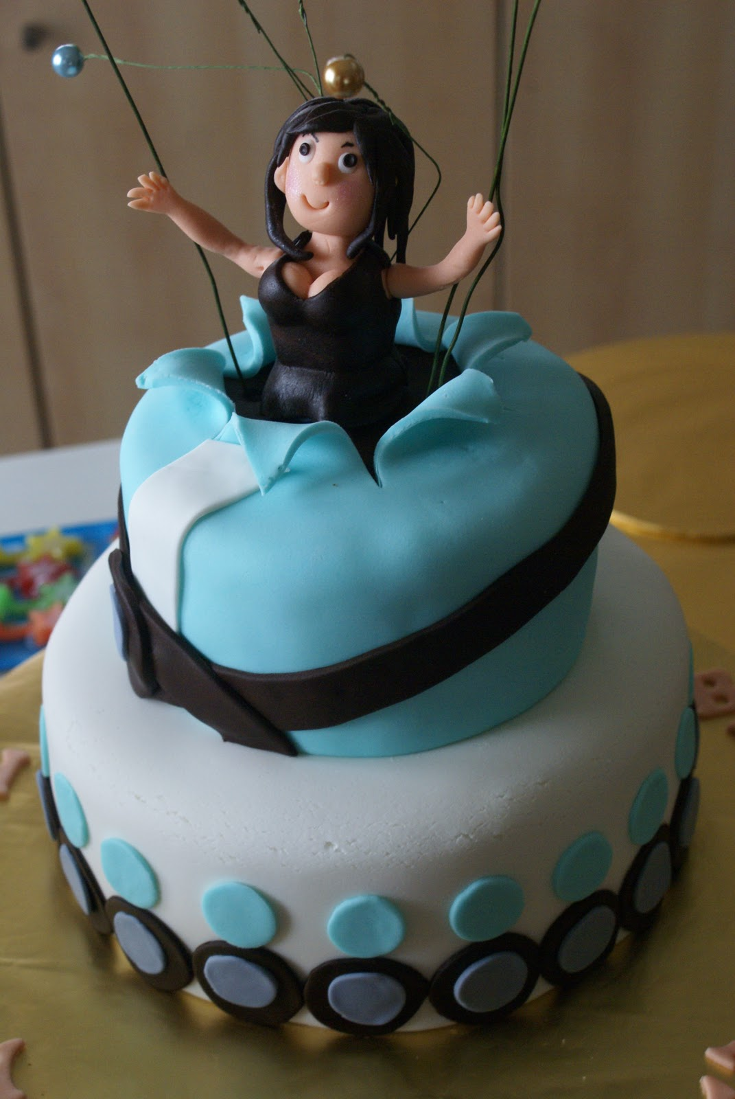 Ling's Passion: 50th Birthday Cake