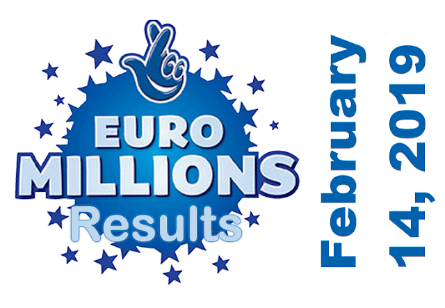 EuroMillions Results for Friday, February 14, 2020