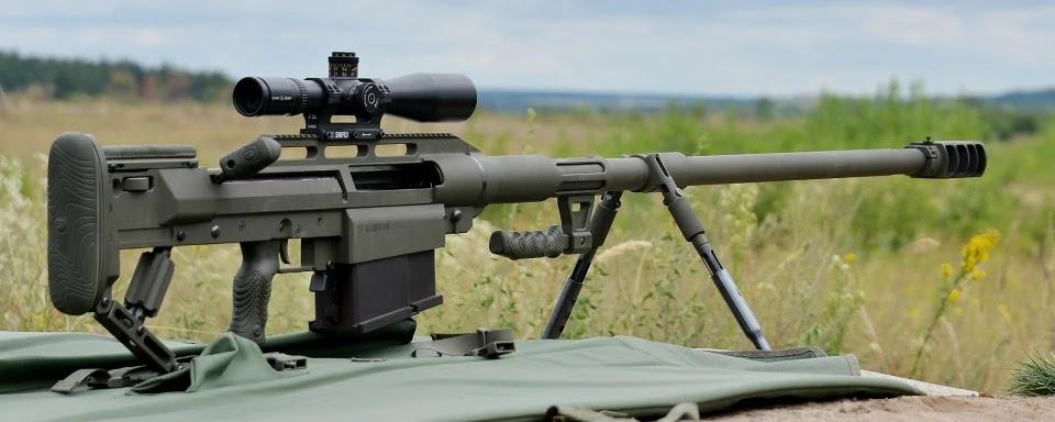large-caliber rifle Alligator