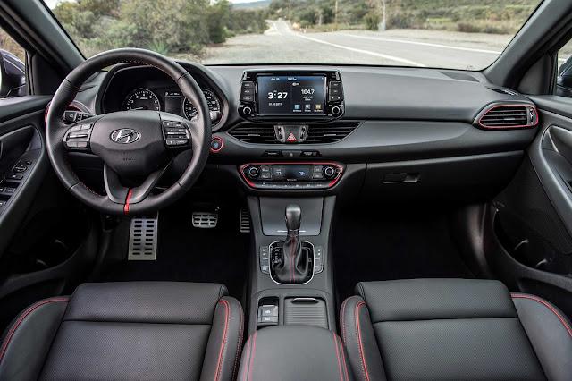 Hyundai Elantra GT interior