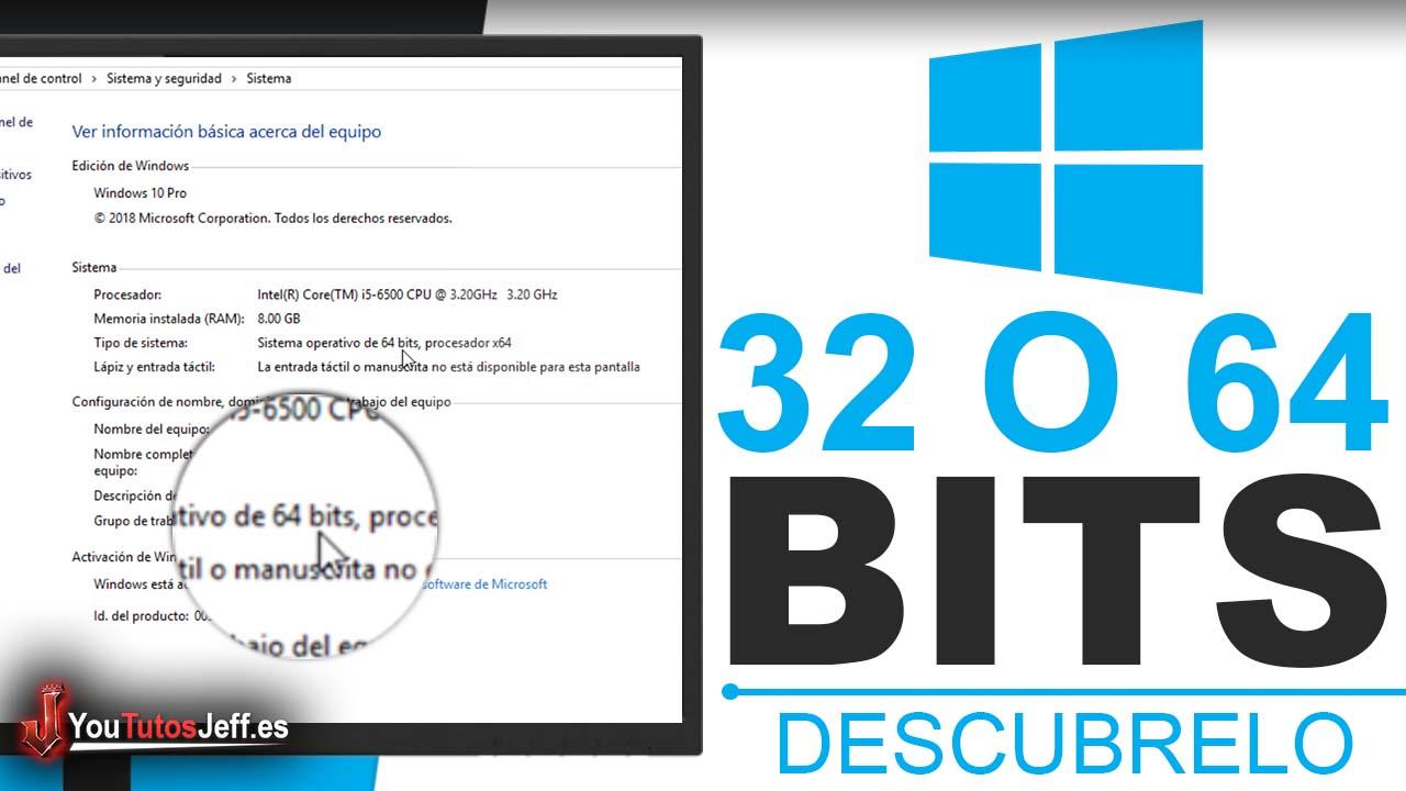 Como Saber Cuantos BITS tiene mi PC - Trucos Windows