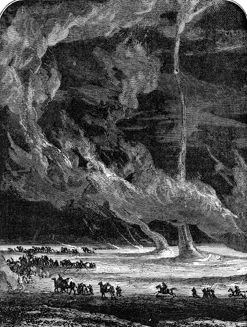 Camille Flammarion desert twisters large illustration