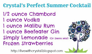 Ann Again... and again Virtual GNO - Crystal's Perfect Summer Cocktail