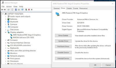 update vga windows 10
