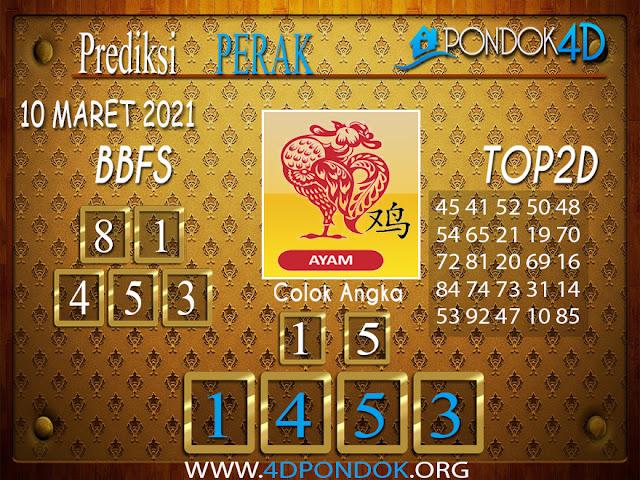 Prediksi Togel PERAK PONDOK4D 10 MARET 2021