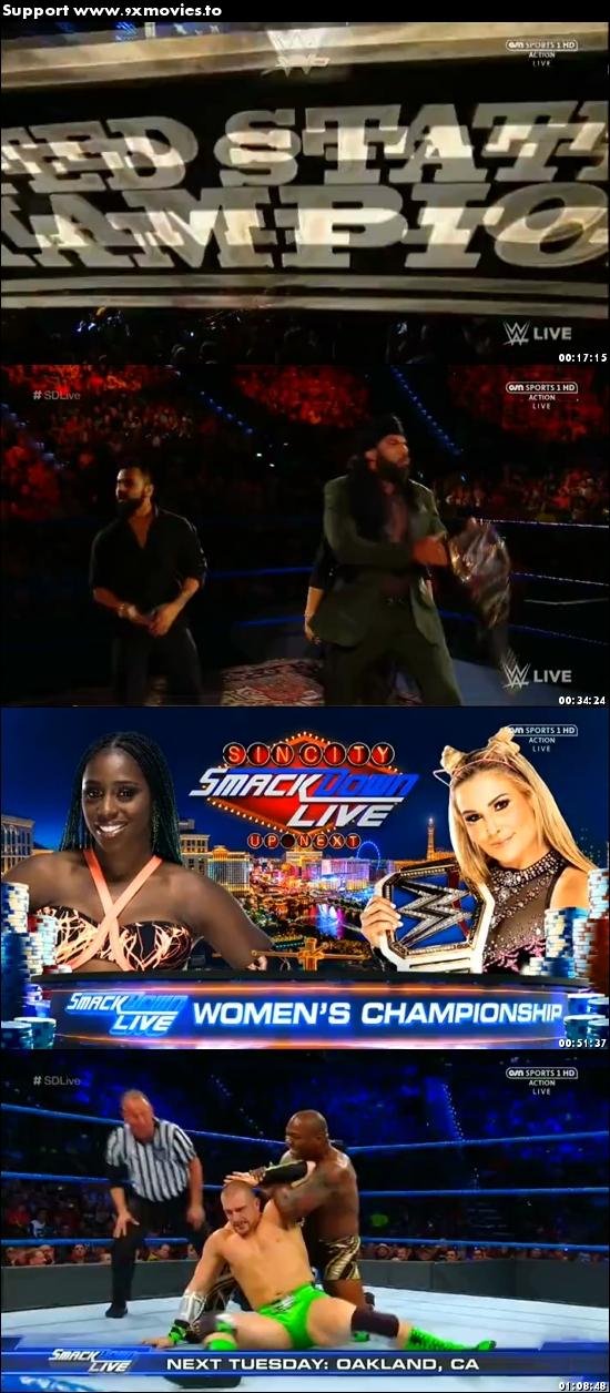 WWE Smackdown Live 12 September 2017 HDTV 480p 300MB