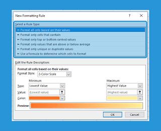 Cara Memberi Warna Pada Cell di Microsoft Excel