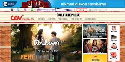 beli tiket bioskop secara online - feri tekno