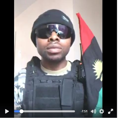We Will Kill Buhari and His Daughter - Niger Delta Militant Leader Finally Unveils Face in Video Message